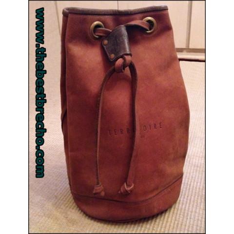 mochila Territoire leather backpack