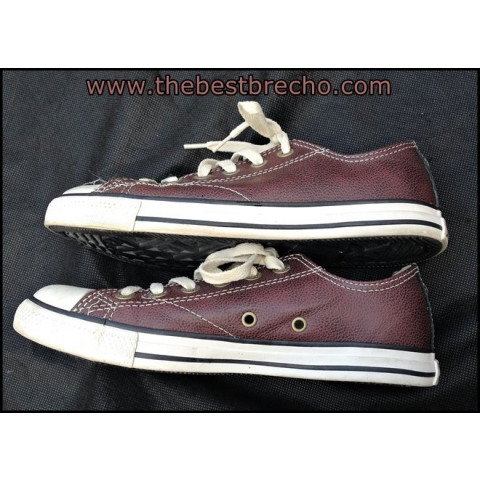 tênis All Star Converse couro