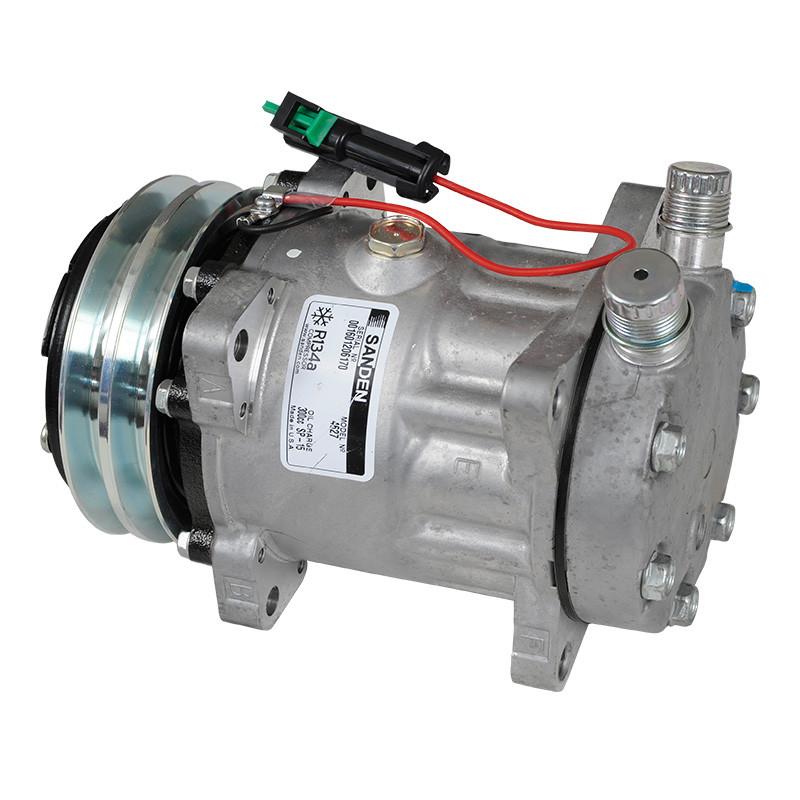 Compressor Sanden 7H15 24V 2A Fixo