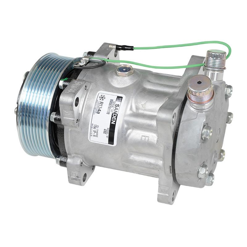 Compressor Sanden 7H15 24V 8PK Fixo