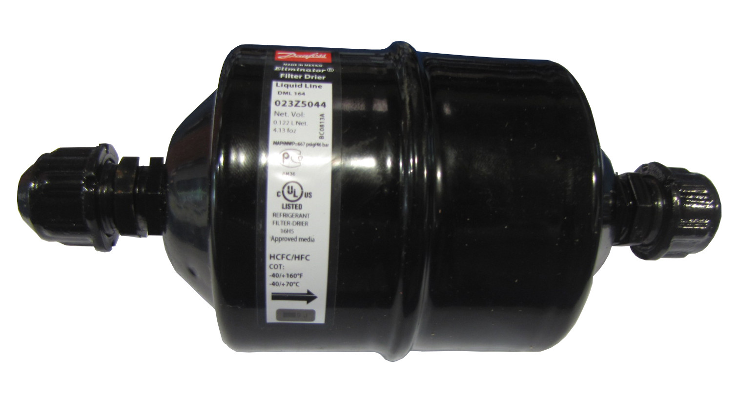 Filtro Secador Danfoss DML 164