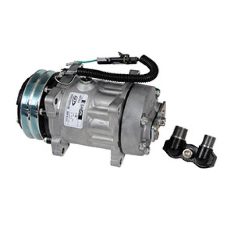 Compressor Sanden 7H15 24V 2A Flex