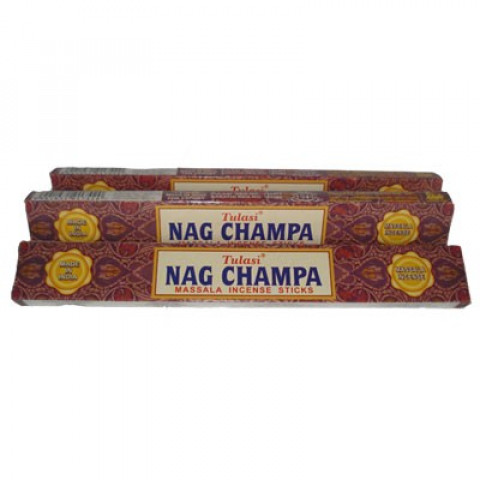 INCENSO NAG CHAMPA (TULASI MASSALA INCENSE STICKS )