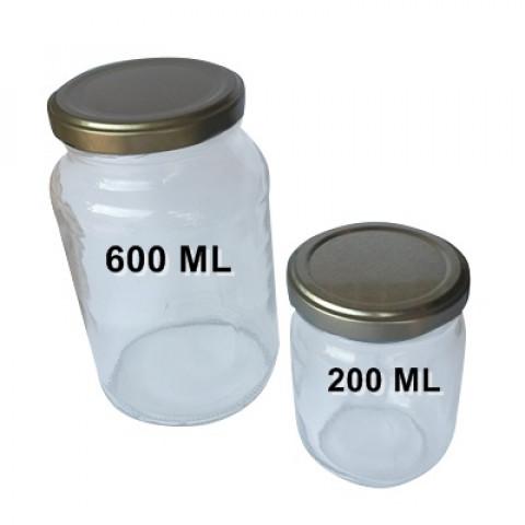 VIDRO PARA CONSERVA DE 600 ML
