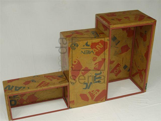 JOGO IMBUI REVESTIDO – 3 caixotes especiais multiuso