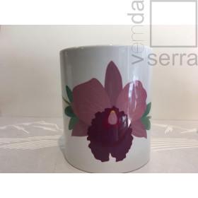 Caneca Orquidea Rosa