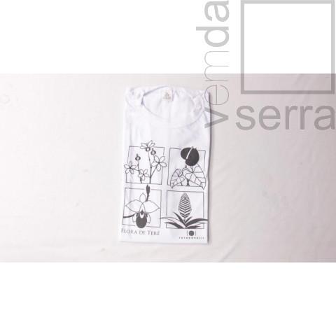 Camiseta Flora de Terê - Adulto