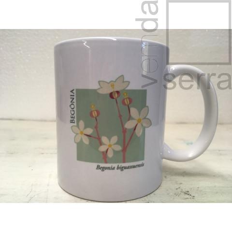Caneca Begônia - Linha Flora de Terê