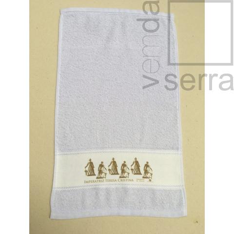 Toalha de Lavabo - Imperatriz Teresa Cristina  (Estampa Ocre)