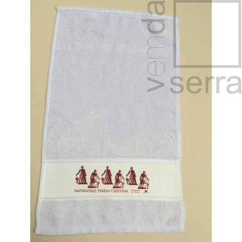 Toalha de Lavabo - Imperatriz Teresa Cristina  (Estampa Tijolo)