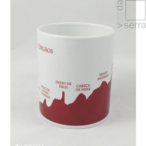 Caneca Picos de Tere - Vermelha