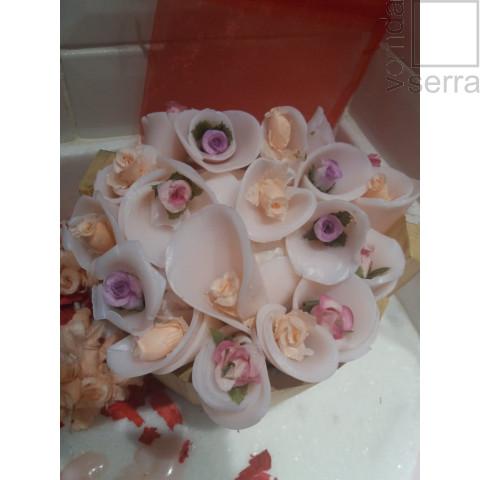 Buque de Flores de Sabonete - Cheiro de Mato Saboaria