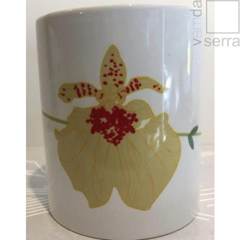 Caneca Orquidea Amarela