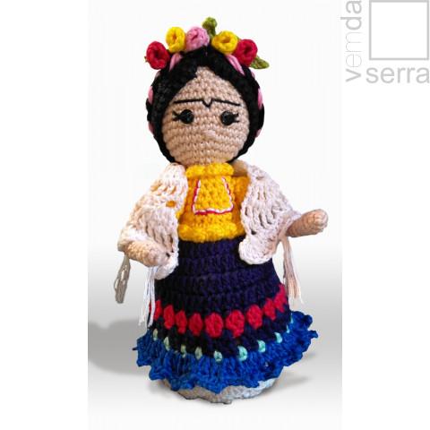 Frida Kahlo - Amigurumi