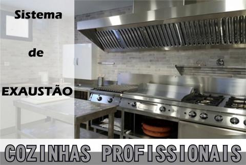Coifas para cozinhas PROFISSIONAIS
