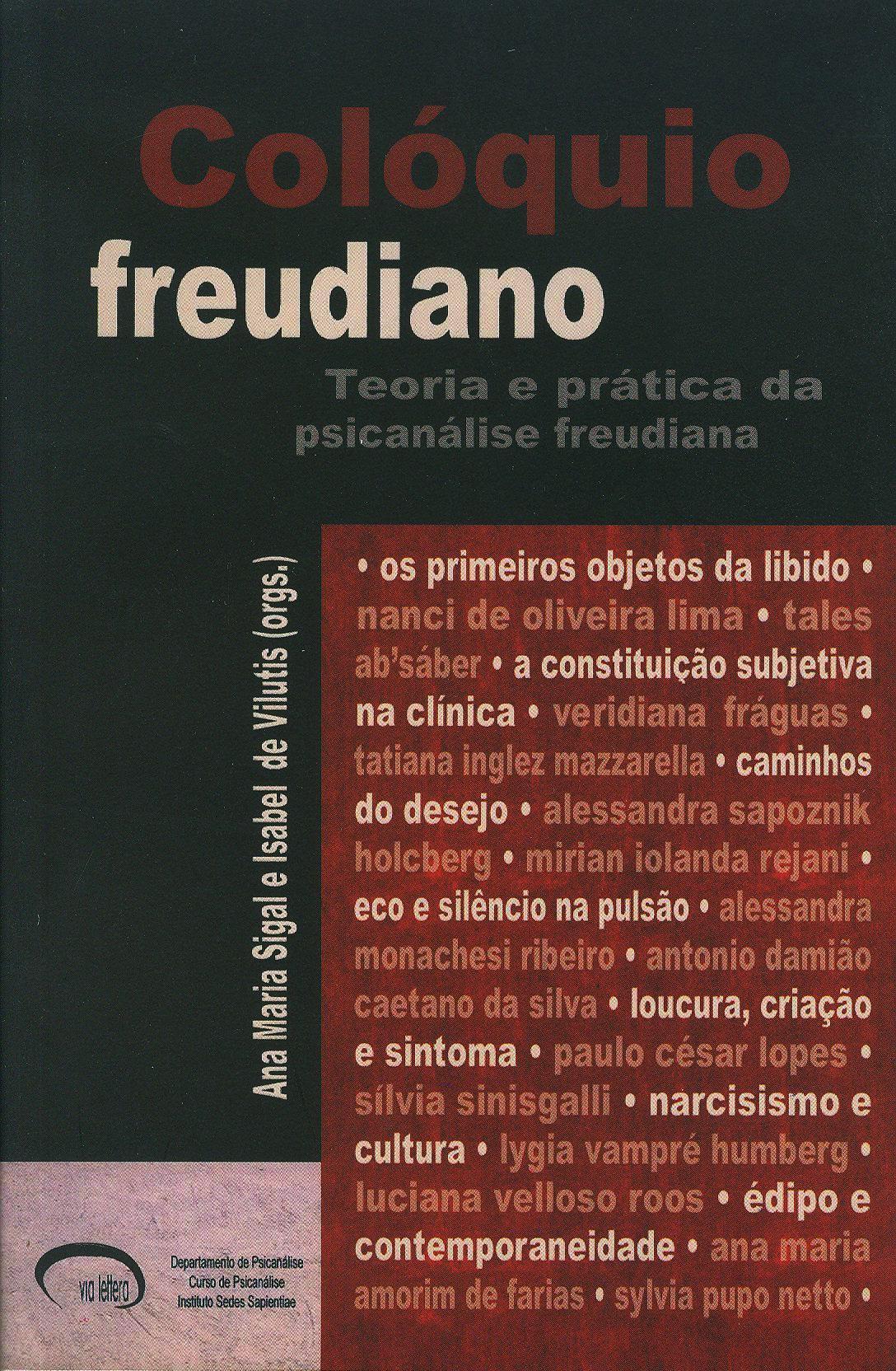 Colóquio freudiano - Teoria e pratica da psicanalise freudiana