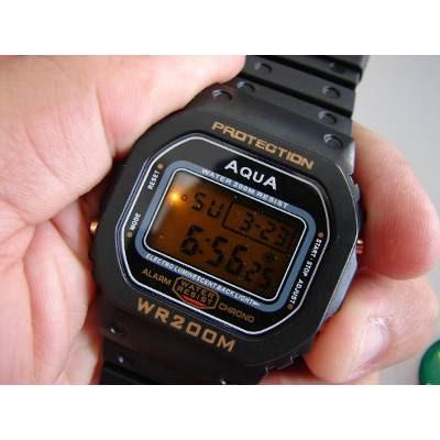 Relógio Original Aqua Waterproof A Prova Dagua Gp 477