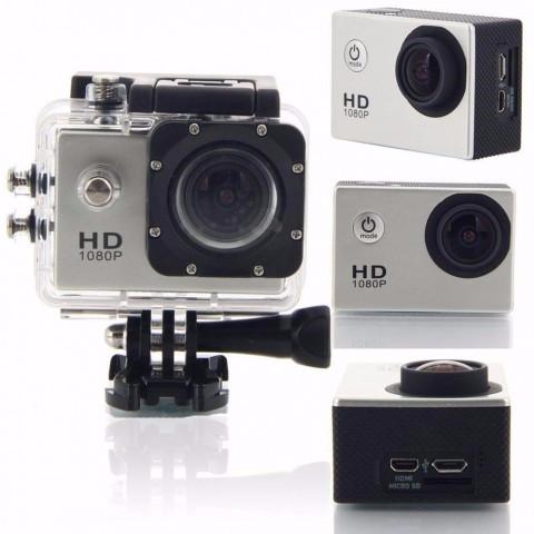 FRETE GRÁTIS !!!...Camera Filmadora Prova D Agua Sportcam Sport Hd Bike Moto mais acessórios