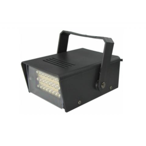 Lâmpada De Led Colorido Rotativa Giratória + STROBOO LED