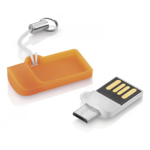 Pendrive Otg Dual Usb 8GB MULTILASER - Pd507