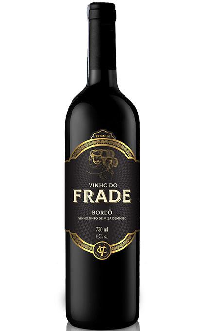 Vinho Tinto Bordô Demi-Sec do Frade 750 ml