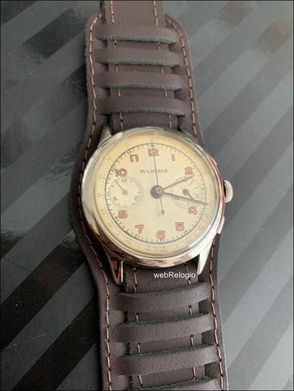 Bucherer Landeron Cronographe Suisse Military. REF.00928