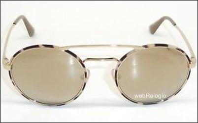 Óculos de Sol Prada Ouro-Havana. REF.00611