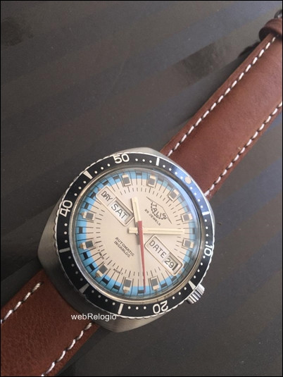 Talis Diver Automatic Day-Date. REF.00258