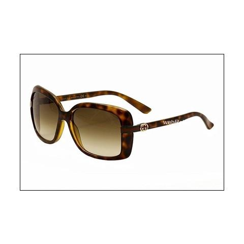 Óculos de Sol Gucci Square Havana. REF.00591
