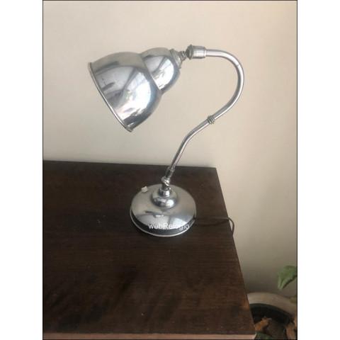 Abajur Aluminio Modernista Art Deco Design Original. ref.00857