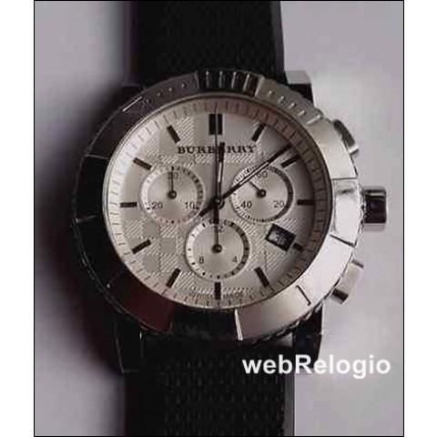 Burberry Trench Chronograph Diver Swiss Made. REF.00478