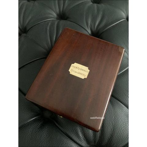 Caixa de Relogio de Bolso Pocket vintage Patek Philippe 1900´s. REF.00817