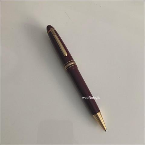 Caneta Esferográfica Media Montblanc MeisterStuck Vinho BallPoint Pen. REF.00912