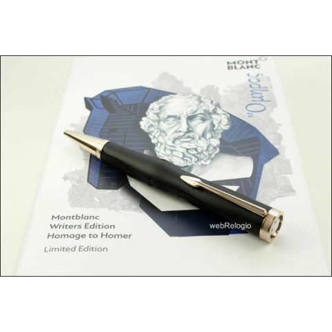 Caneta Montblanc Homage to Homer Limited Writers Edition Ballpoint Pen. REF.00900