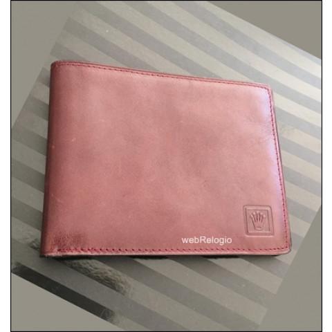 Carteira de Couro Wallet Rolex. REF.00715