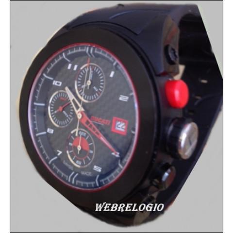 Ducati Chronograph Valjoux 7750 Automatic Carbon Fiber Black. REF.0326