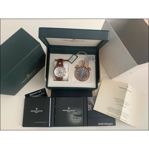 Frederique Constant Healey Limited Edition Wristwatch and Pocket Chronometer Swiss. REF.00954
