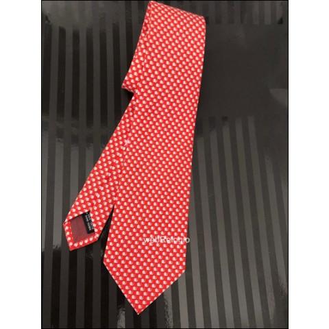 Gravata Tie Salvatore Ferragamo Vermelho Claro. ref.00812