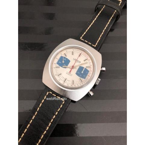 Lanco Chronograph Valjoux Tachymetre Telemetre. REF.00796