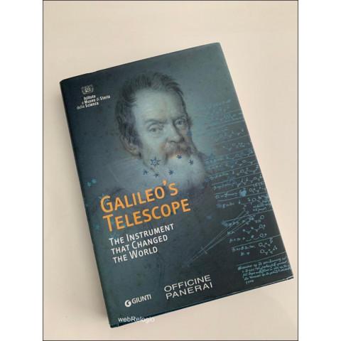 Livro Galileo´s Telescope Officine Panerai. REF.00894