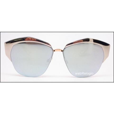 Óculos de Sol Dior Mirrored Palladium Rose Gold. REF.00608