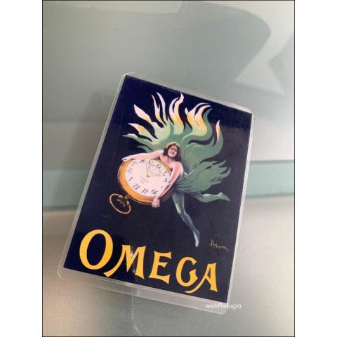 Omega Art Nouveau Mini-poster Pocket Watch Magnetico. REF.00899