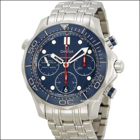 Omega Seamaster co-axial chronograph ceramic .REF.00646