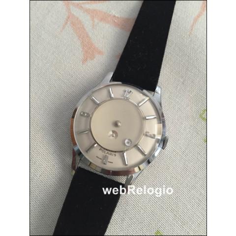 Polaris mystery dial . Movimento mecânico manual. REF.00503
