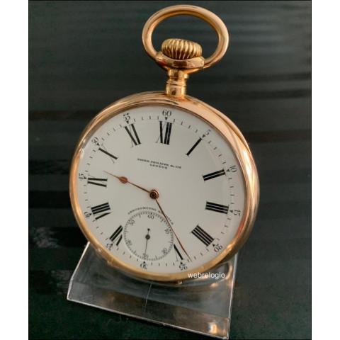 Patek Philippe Chronometro Gondolo large 56mm Pocket Bolso. ref.00946