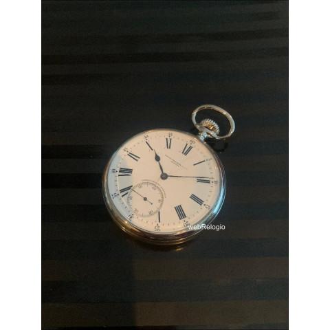 Patek Philippe Chronometro Gondolo Metal 56mm Pocket Bolso. REF.00973