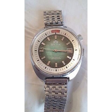 Relógio Britix. Mecânico manual. REF.00515