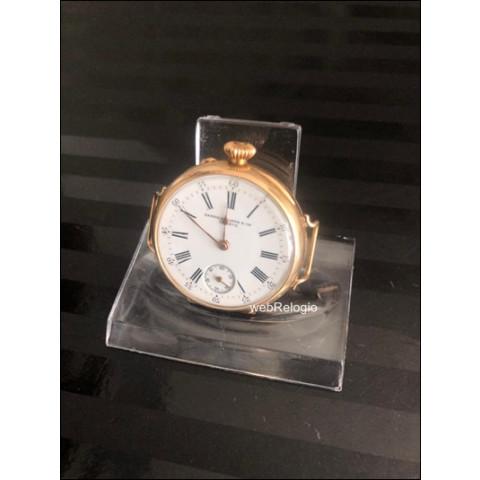 Relógio de Bolso e Pulso Patek Philippe pocket. REF.00829