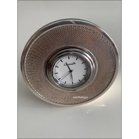 Relógio de Mesa Christofle Prata - REF.00922