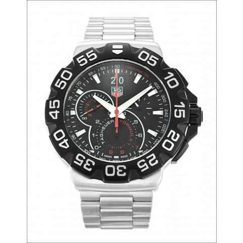 Tag Heuer Grand Date Formula 1 Chronograph Steel Band. REF.00936